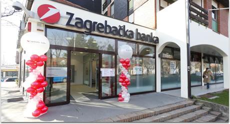 Otvorena Preuređena Poslovnica Zagrebacke Banke U Velikoj Gorici