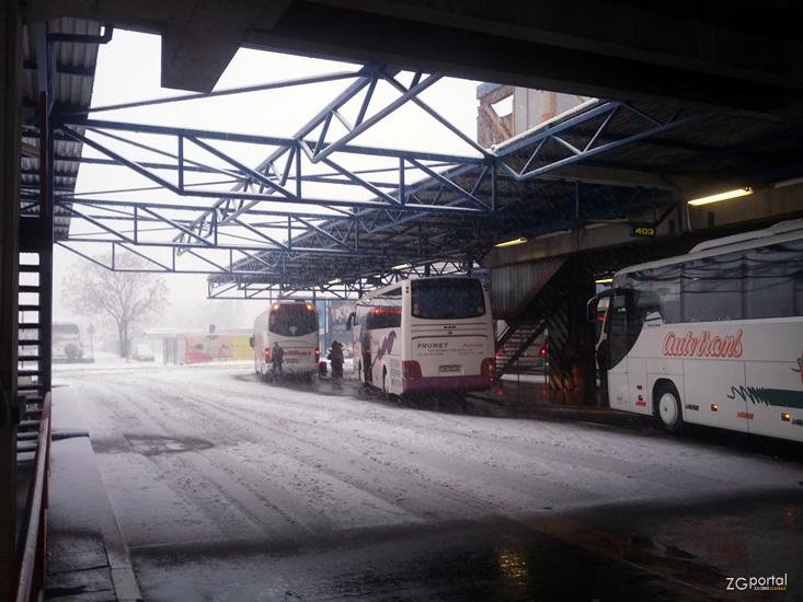 Autobusni Kolodvor Zagreb Galerija Fotografija Zagreb U Slici