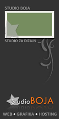 studio BOJA zagreb / studio za web i grafički dizajn