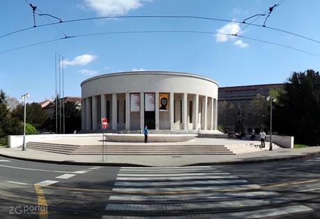 Mestrovicev Paviljon Dzamija Dom Hdlu Simboli Grada Zagreba