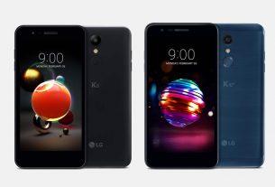 smartphone lg k8 & lg k10 - 2018