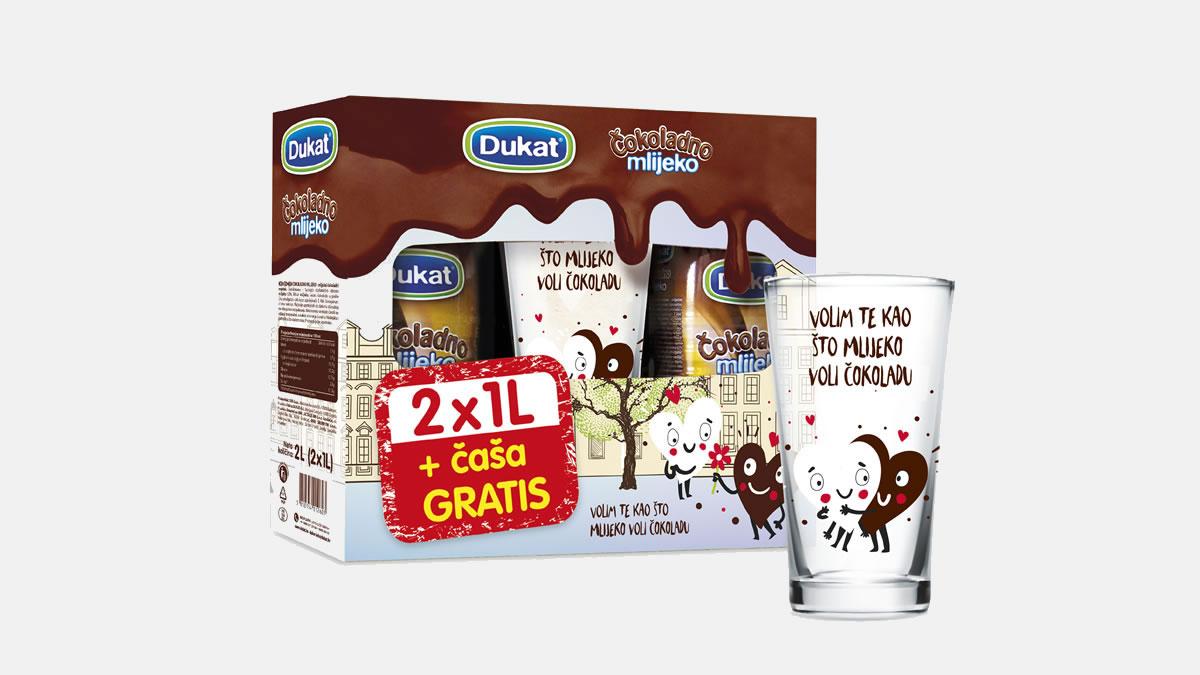 dukat čokoladno mlijeko s časom gratis - 2019