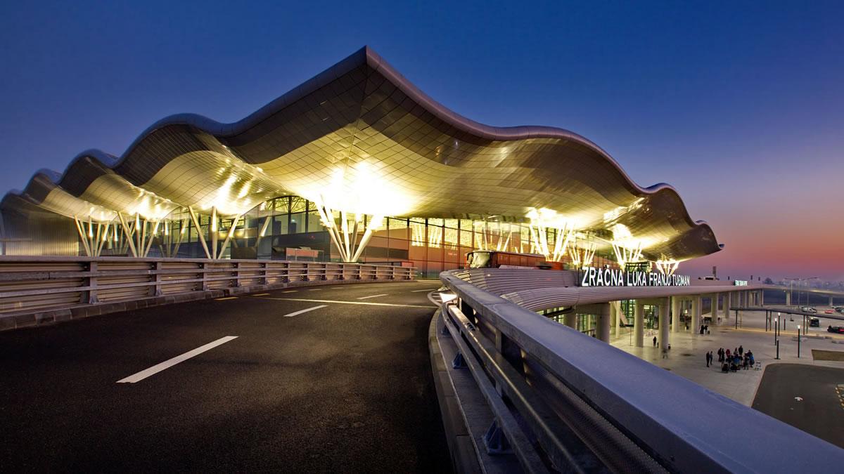 airport `franjo tuđman` zagreb 2019