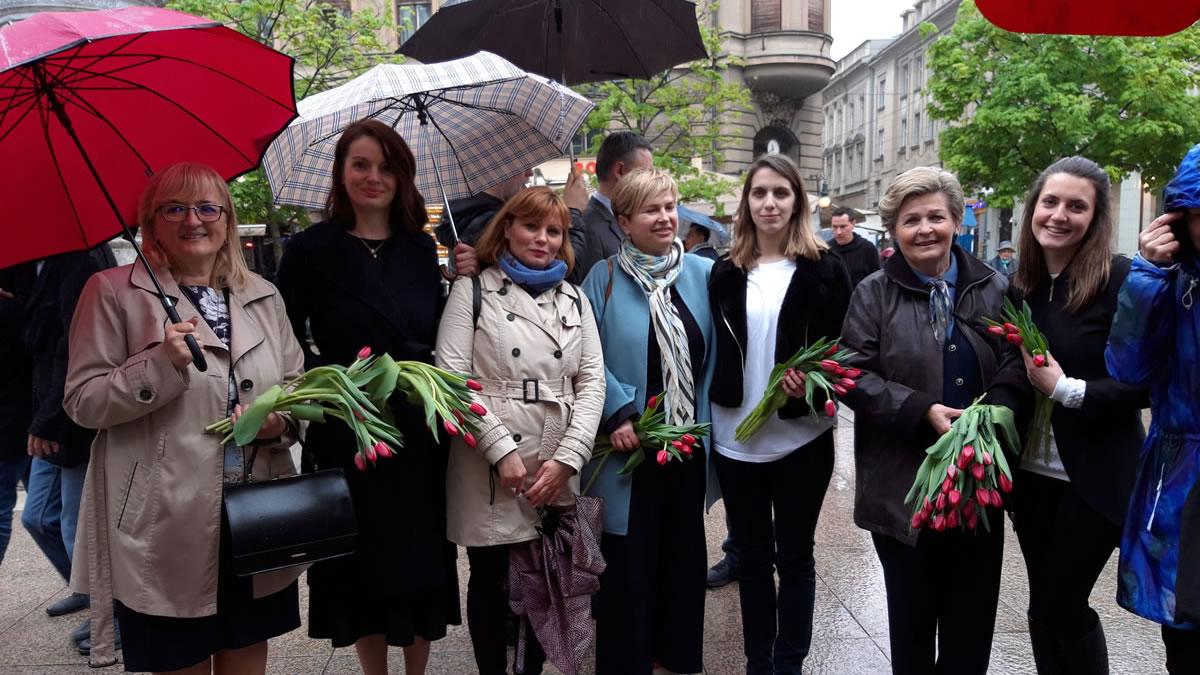svjetski dan parkinsonove bolesti / cvjetni trg, zagreb, 2019