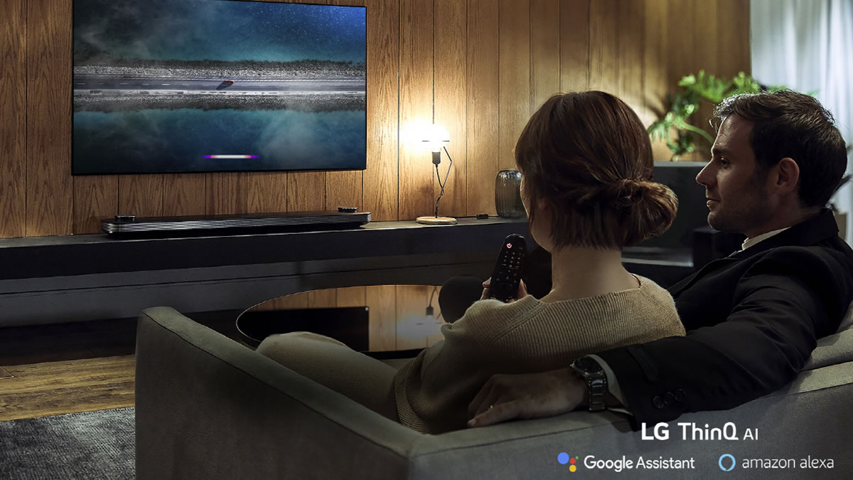 LG ThinQ AI TV 2018