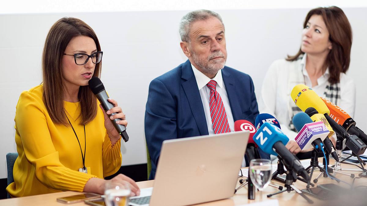 zagrebački filmski ured / mia pećina drašković, milan bandić i martina bienenfeld