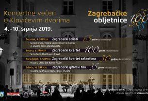 zagrebačke obljetnice 2019 - koncertne večeri u klovićevim dvorima