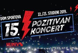 5. pozitivan koncert 2019 / dom sportova, zagreb