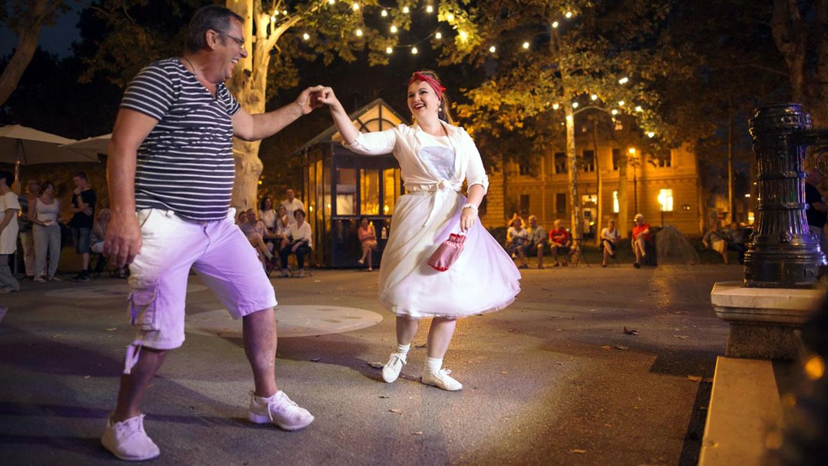 plesne večeri na zrinjevcu - zagrebački vremeplov 2019