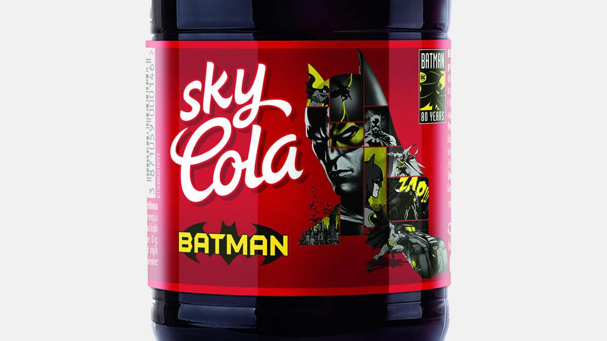 sky cola batman 2019