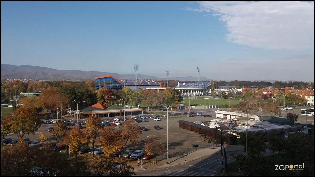 stadion maksimir zagreb / okretište borongaj