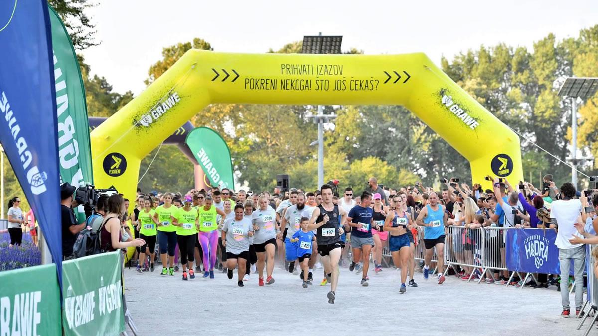 6. GRAWE noćni maraton / bundek, zagreb