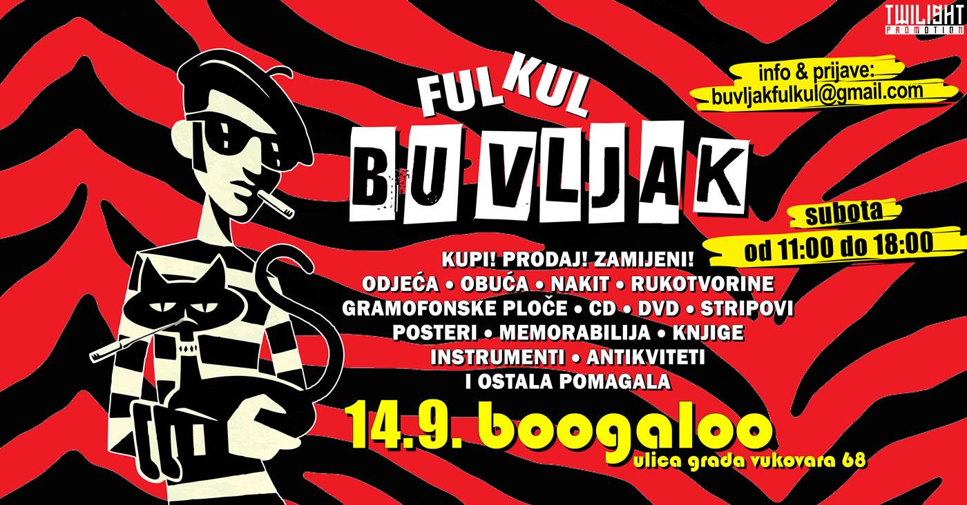 ful kul buvljak / boogaloo zagreb / 14. rujan 2019.