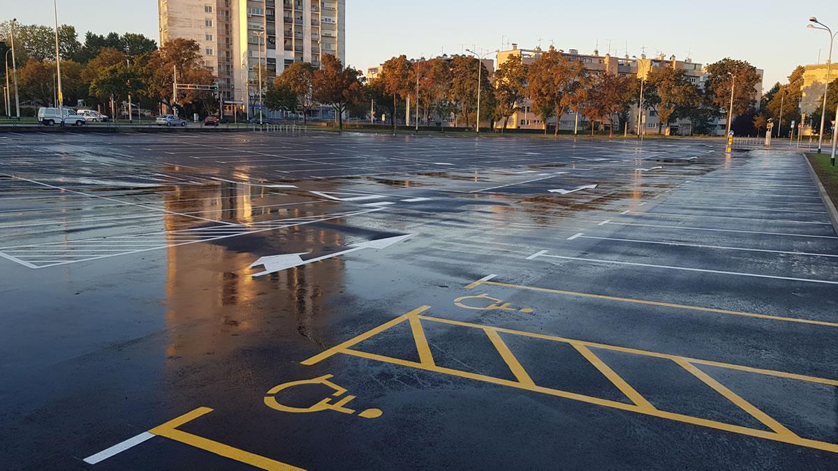 parkiralište borongaj, zagreb