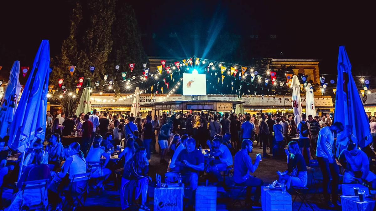 zagreb burger festival 2019 - strossmayerov trg, zagreb