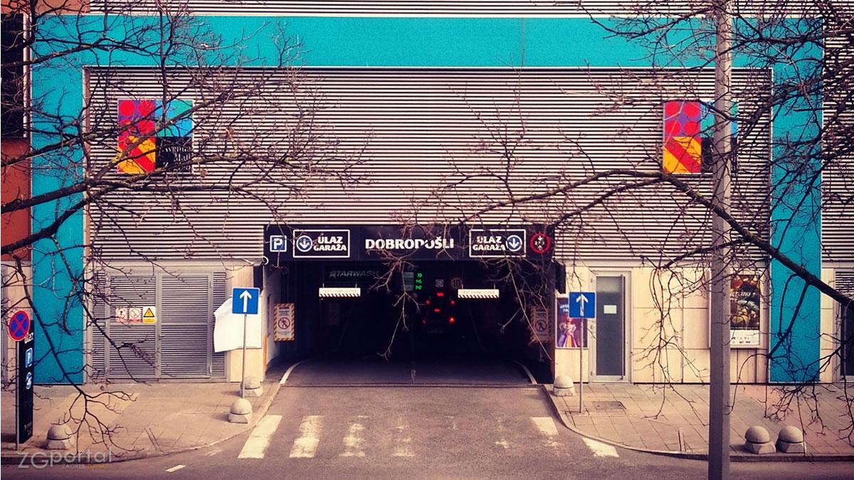 podzemna garaža / Avenue Mall Zagreb 2015