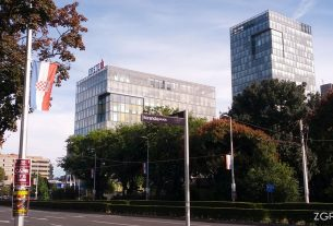 eurotower / vukovarska ulica, zagreb / rujan 2016.