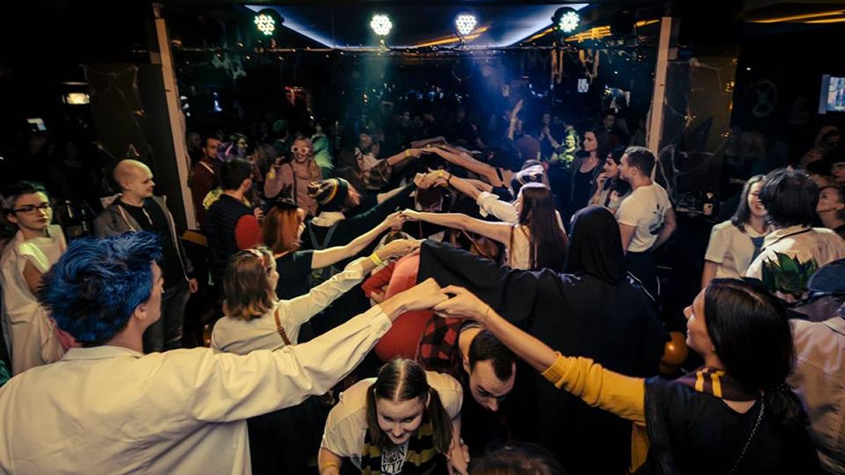 harry potter halloween party 2018 / metropolis klub zagreb