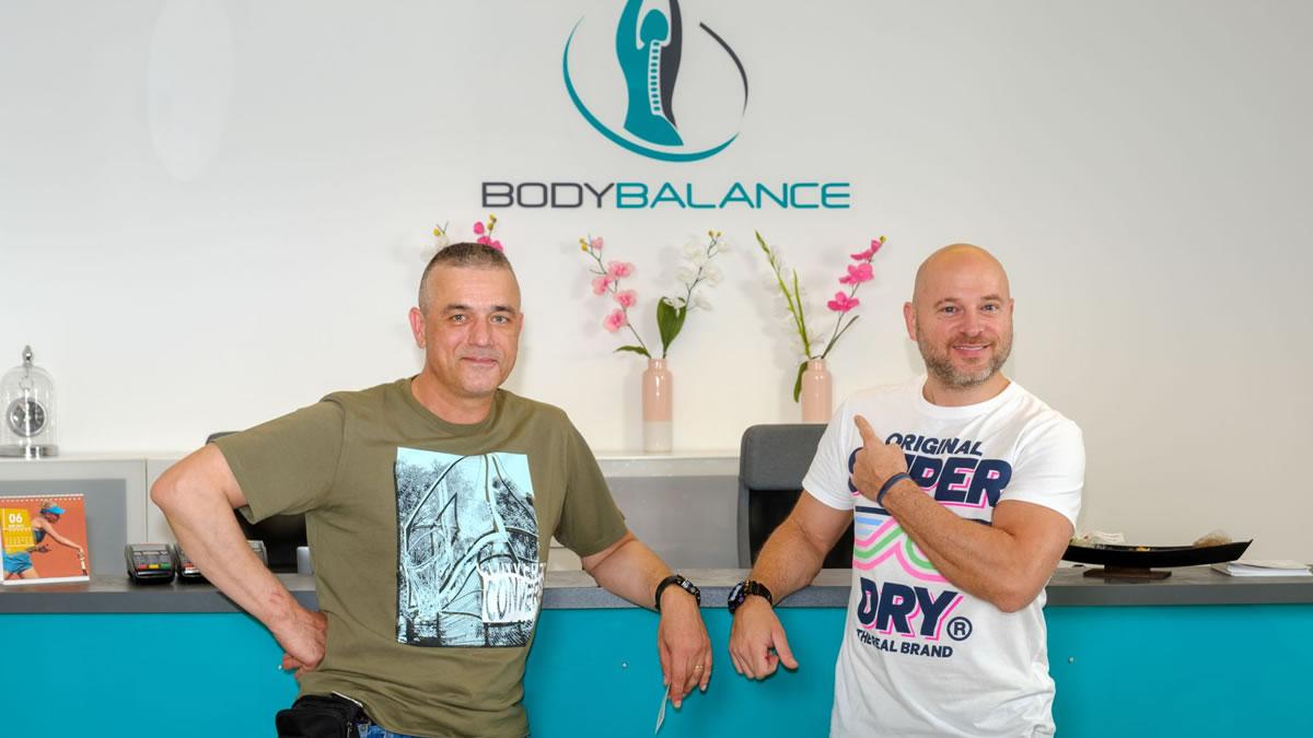 igor mešin i rene bitorajac / poliklinika medical body balance zagreb