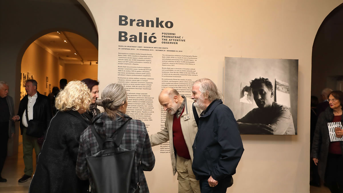 """izložba """"branko balić - pozorni promatrač"""" / muo zagreb 2019"""