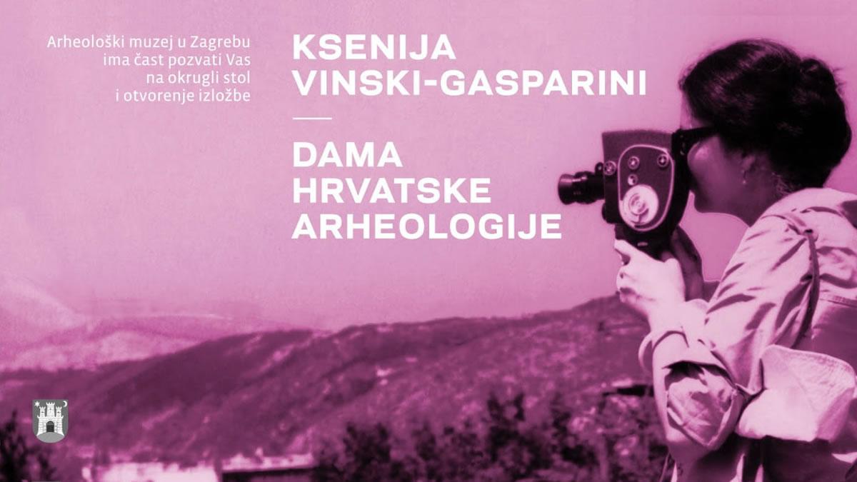 "izložba ""Ksenija Vinski Gasparini - dama hrvatske arheologije"" / Arheološki muzej / Zagreb 2019."