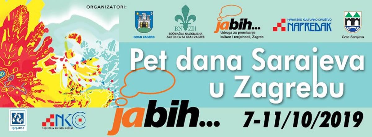 Ja BiH… Pet dana Sarajeva u Zagrebu