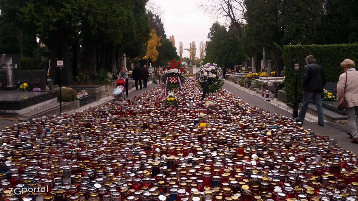 mirogoj, glavni križ / svi sveti 2016