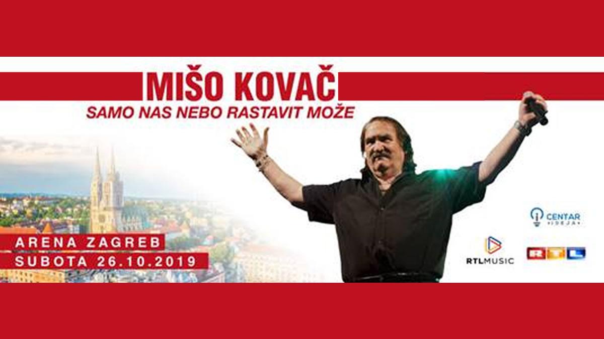 mišo kovač / samo nas nebo rastavit` može / arena zagreb 2019