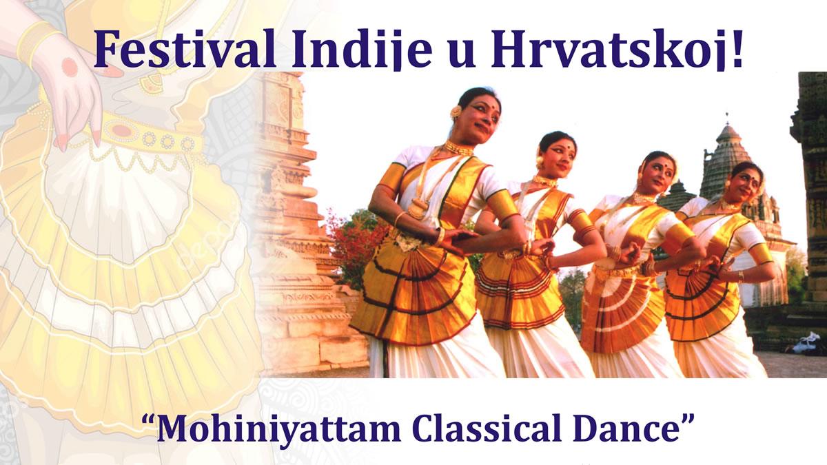 mohiniyattam classical dance / festival indije u hrvatskoj