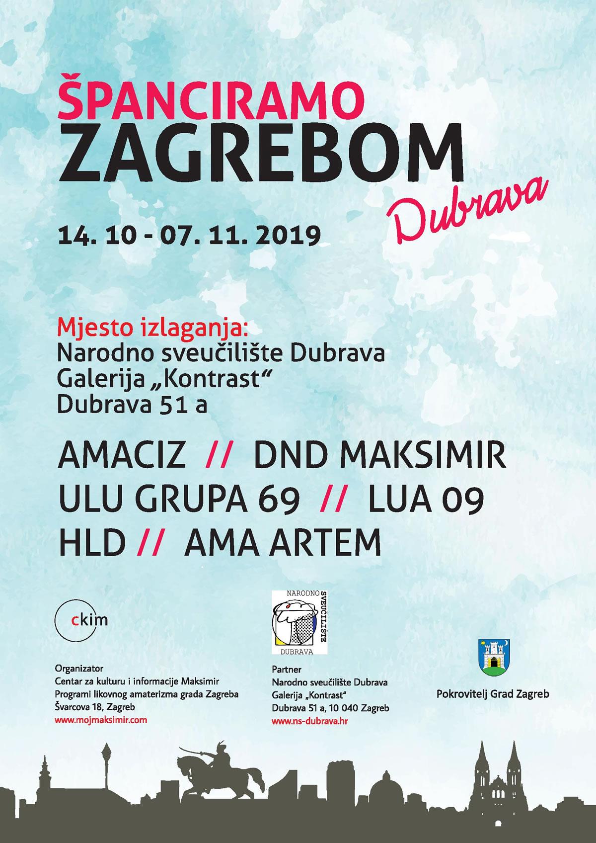 Španciramo Zagrebom / Narodno sveučilište Dubrava / 14. listopad 2019.