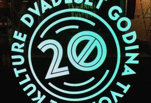 tvornica kulture / 20 godina