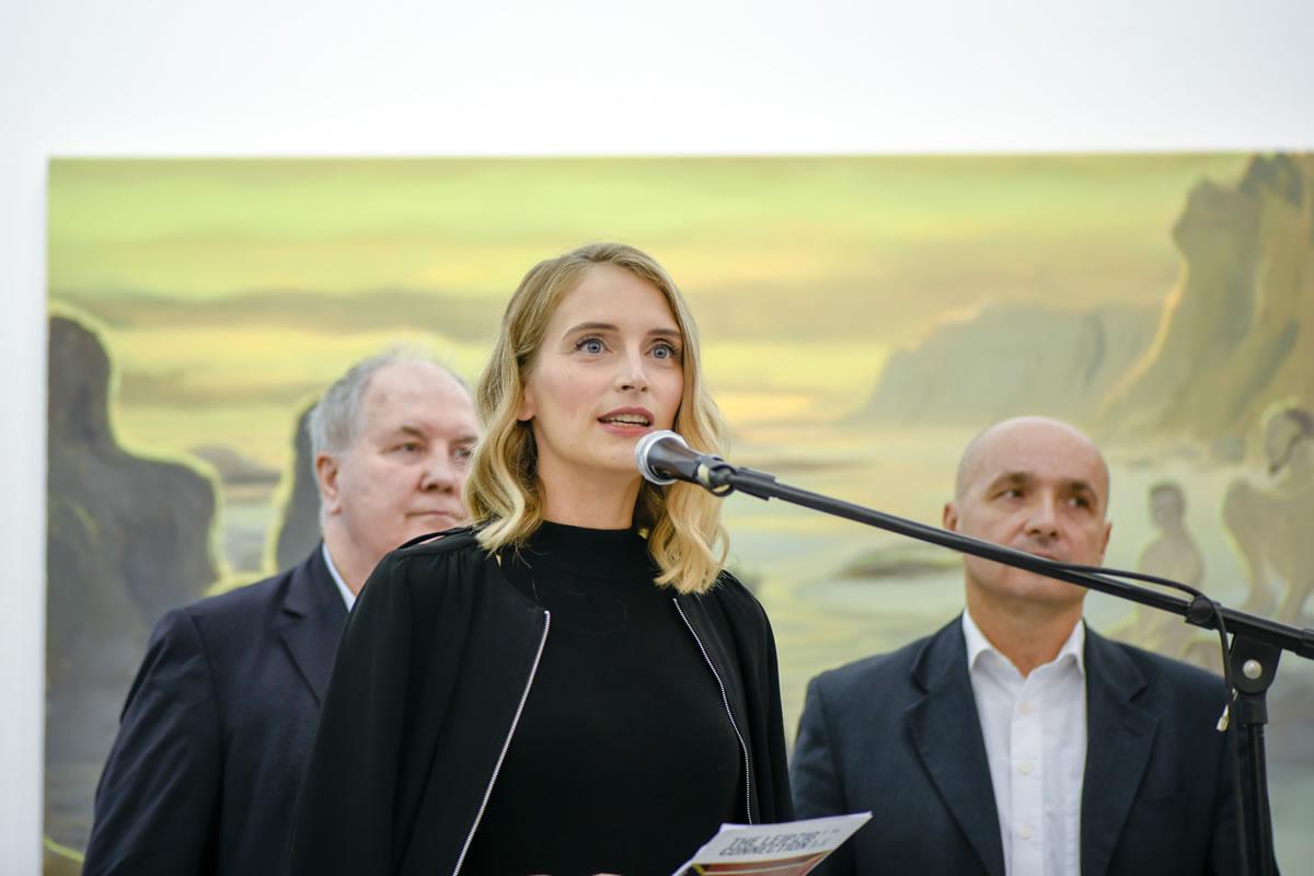 Mark Gisbourne, Ivana Andabaka i Tomislav Buntak / 5. bijenale slikarstva Zagreb