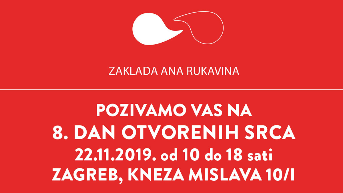 8. dan otvorenih srca 2019 / zaklada ana rukavina