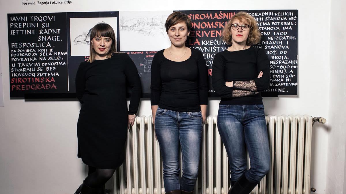 BLOK Zagreb 2019 / Ana Kutleša, Ivana Hanaček i Vesna Vuković
