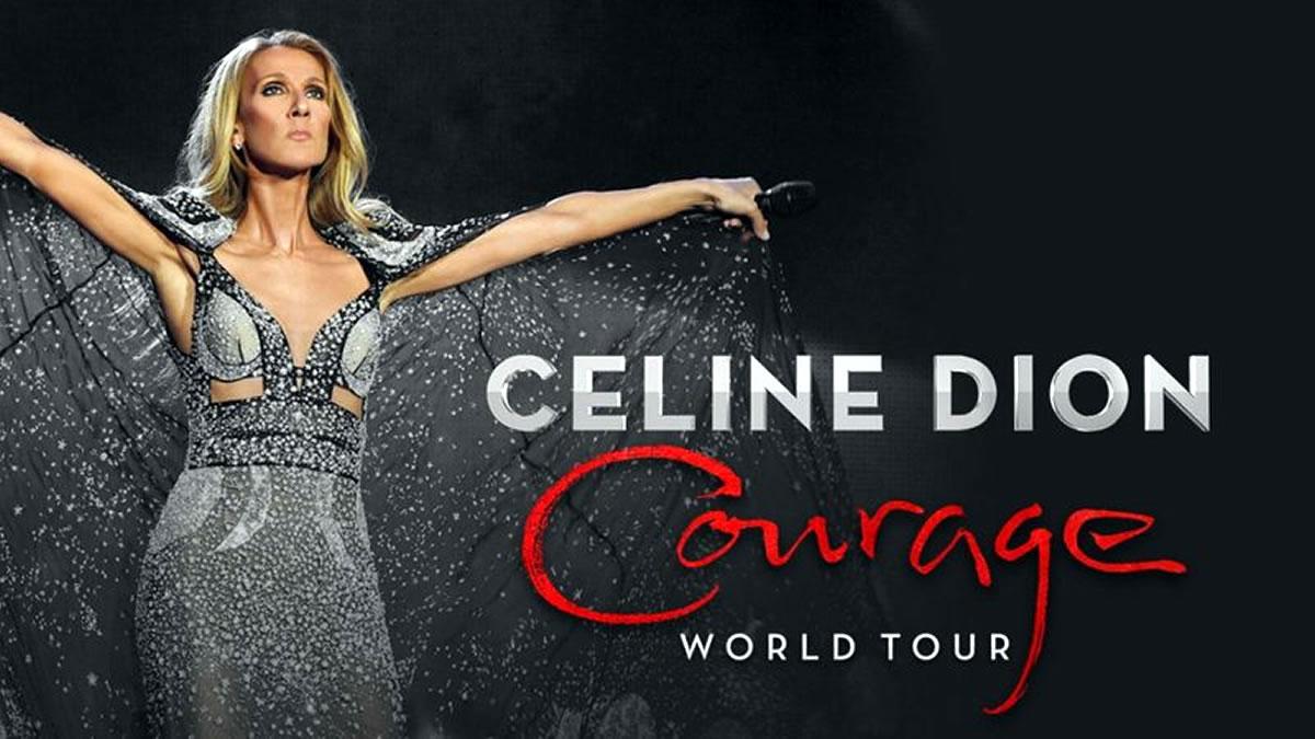 celine dion / courage world tour 2019