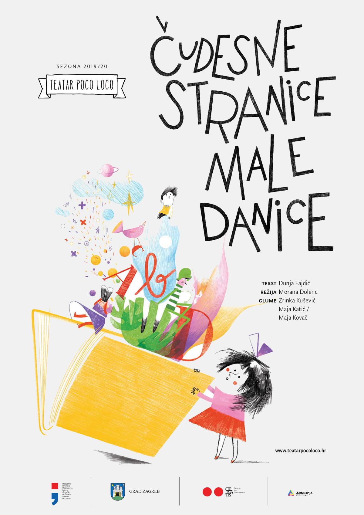 Čudesne stranice male Danice / Teatar Poco Loco