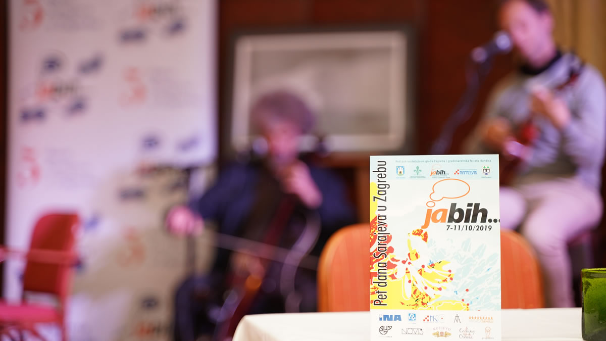 """festival """"Ja BiH"""" / Zagreb 2019"""