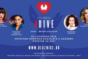 """gala koncert """"4 dive i bruno krajcar"""" / hnk zagreb 2019"""