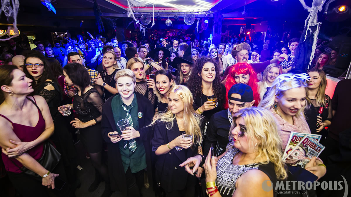 halloween party / metropolis zagreb 2019