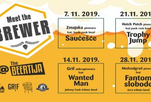 meet the brewer / the beertija zagreb / studeni 2019.