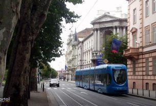 moderna galerija zagreb / tramvaj broj 6 / lipanj 2013