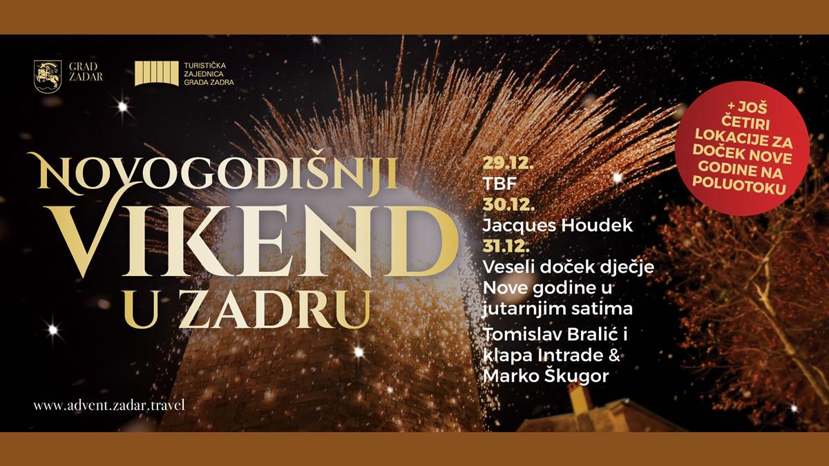 novogodišnji vikend u zadru 2017