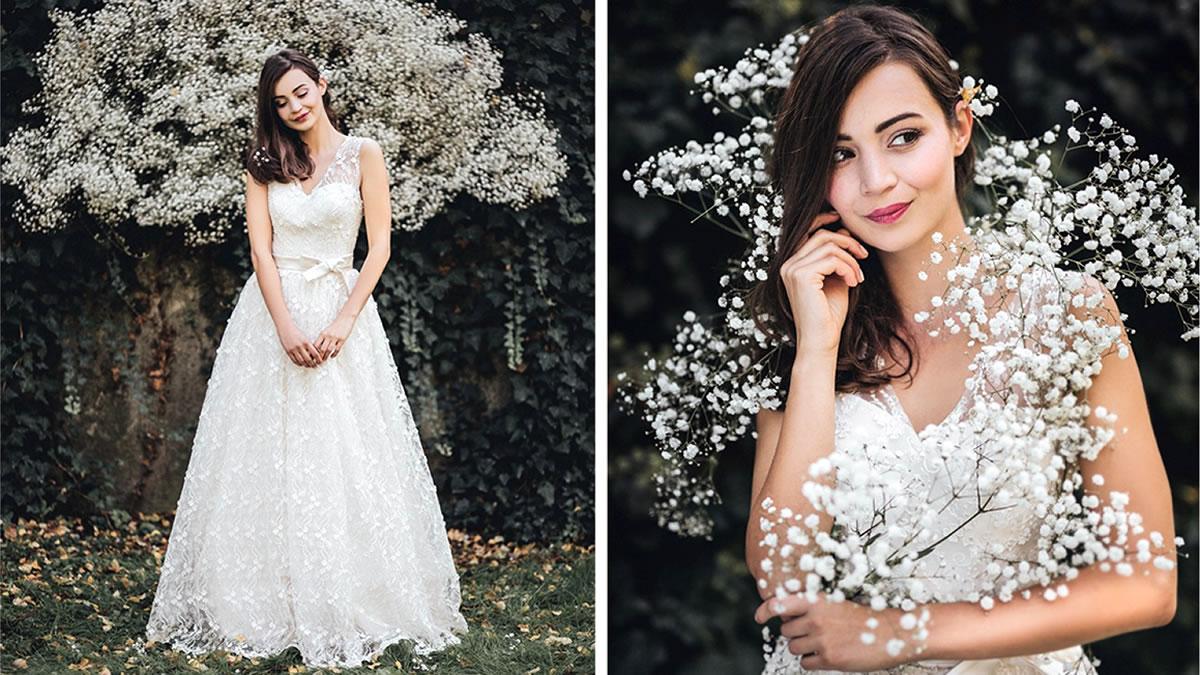 sandra haddad / kolekcija vjenčanica 2017 / model: darija gabrić
