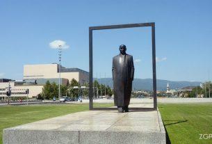 spomenik većeslavu holjevcu / zagreb, kolovoz 2014.