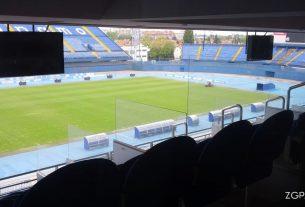 stadion maksimir / svečana loža / travanj 2016.