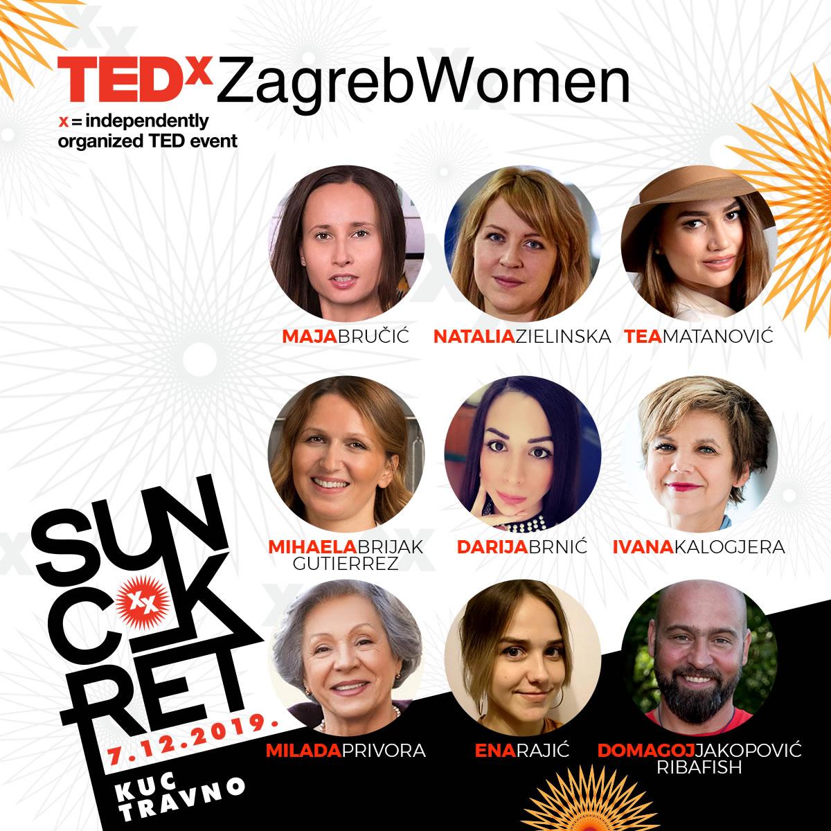 TEDxZagreb Women 2019 - Suncokret