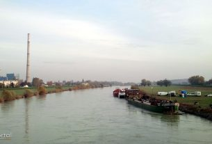 termoelektrana toplana zagreb / rijeka sava / studeni 2012.