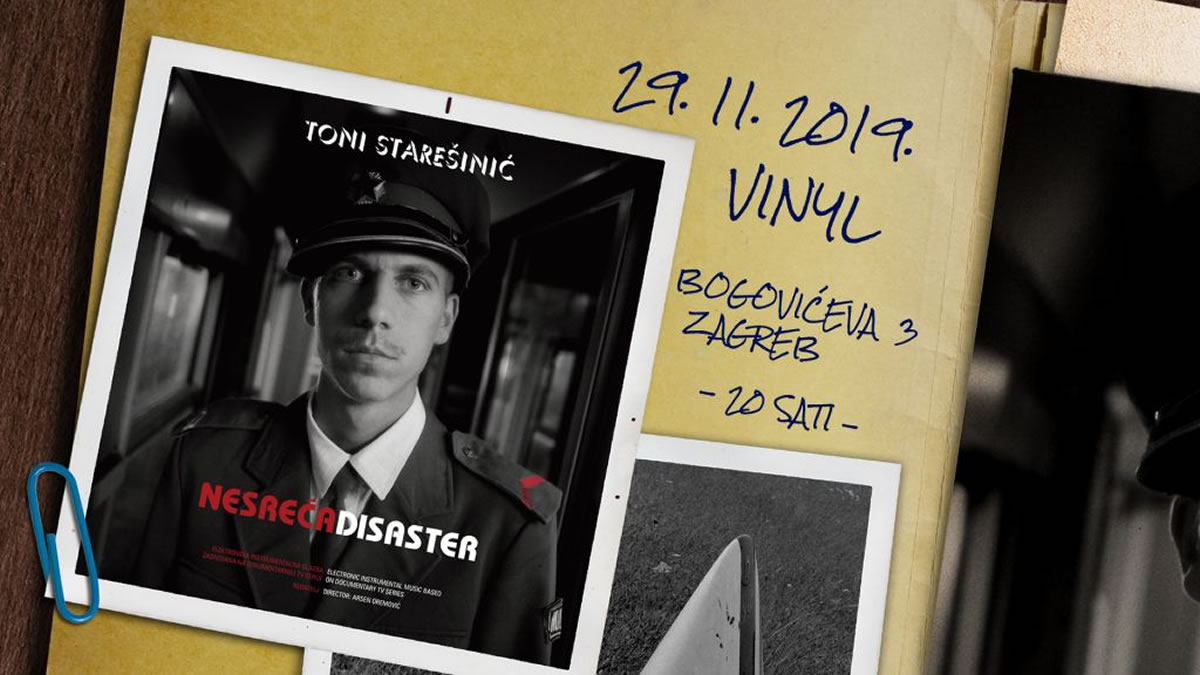 toni starešinić - klub vinyl zagreb - 2019
