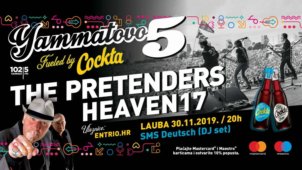 yammatovo 5 - the pretenders & heaven 17