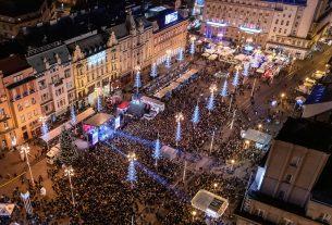 """14. božićni koncert """"želim život"""" / trg bana jelačića, zagreb / prosinac 2019."""
